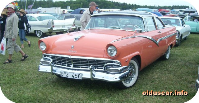 1956 Ford Fairlane Crown Victoria Glass Top Hardtop Coupe Front