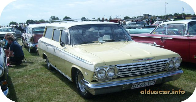 1962 Chevrolet Bel Air 4d 6p Wagon front