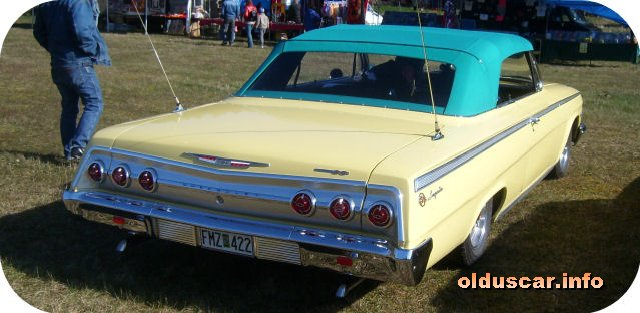 1962 Chevrolet Impala SS Convertible Coupe back