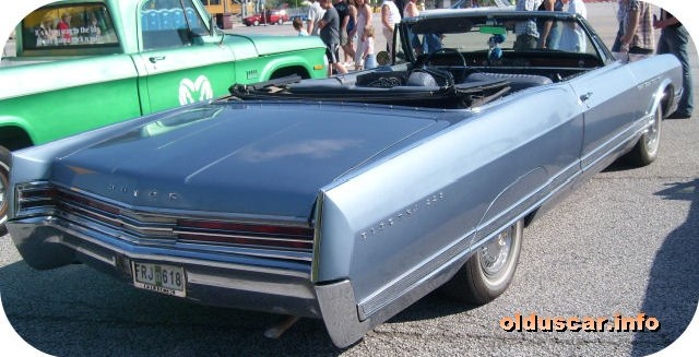 1965 Buick Electra 225 Custom Convertible Coupe back