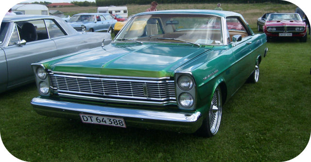 1965 Ford Galaxie 500 Hardtop Coupe front