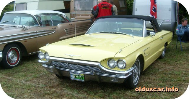 1965 Ford Thunderbird Convertible Coupe front