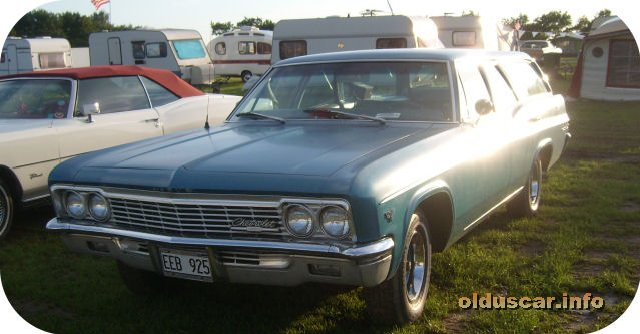1966 Chevrolet Bel Air 4d 6p Station Wagon front
