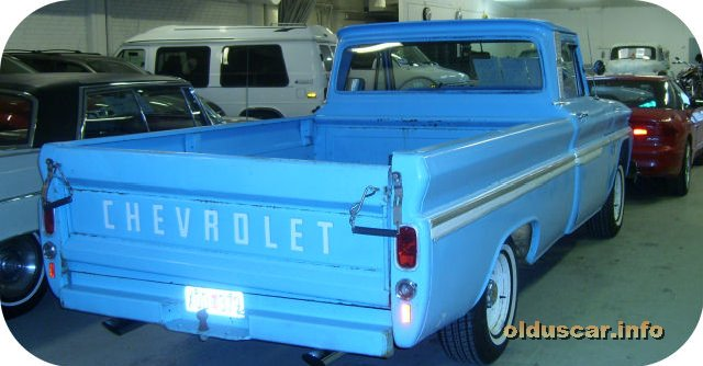 1966 Chevrolet C10 Custom Fleetside Long Bed pickup back