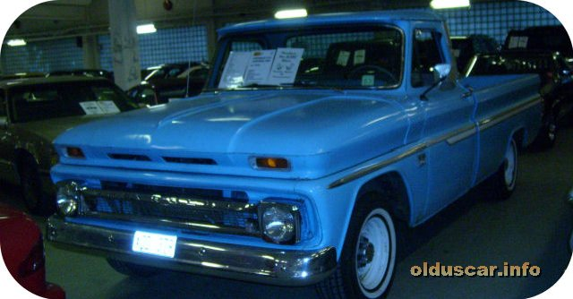 1966 Chevrolet C10 Custom Fleetside Long Bed pickup front