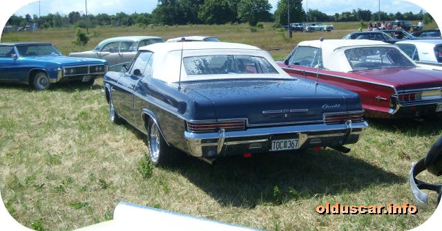 1966 Chevrolet Impala Convertible Coupe back