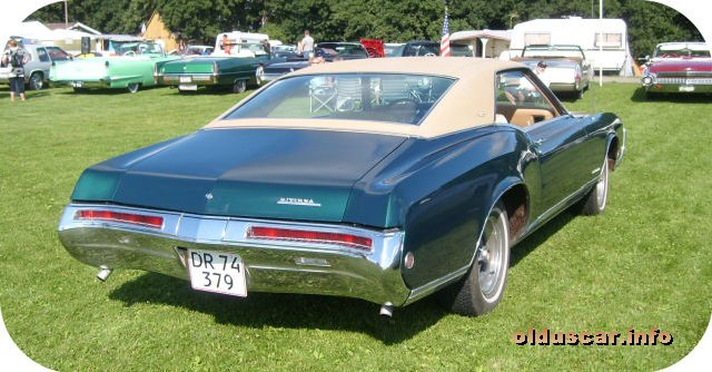1968 Buick Riviera Hardtop Coupe back