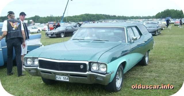 1968 Buick Special Deluxe 4d Station Wagon front