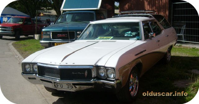 1968 Buick SportWagon 4d 2s Wagon front