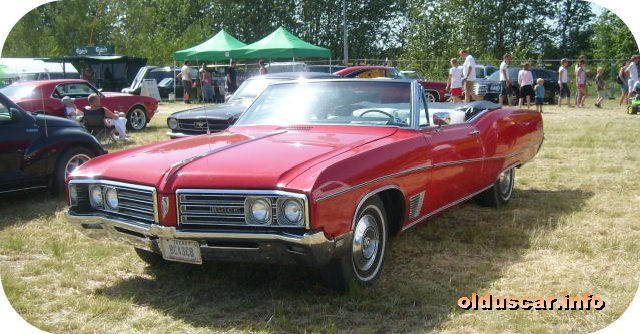 1968 Buick Wildcat Custom Convertible Coupe front