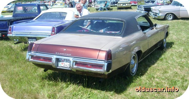1969 Pontiac Grand Prix Hardtop Coupe back