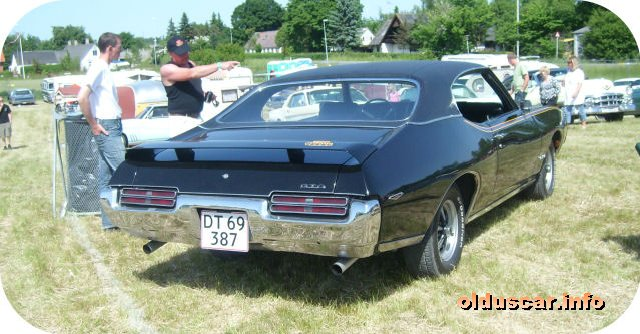 1969 Pontiac Tempest G.T.O. The Judge Ram Air Hardtop Coupe back