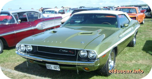 1970 Dodge Challenger RT Convertible Coupe front