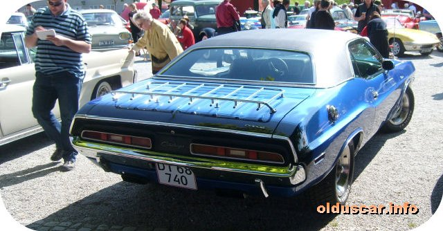 1971 Dodge Challenger R-T hardtop Coupe back