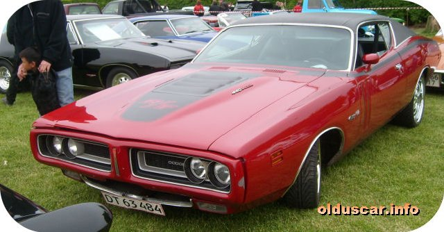 1971 Dodge Charger RT Hardtop Coupe front