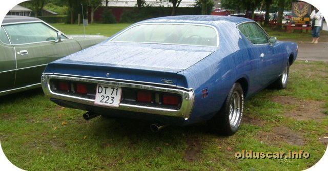 1971 Dodge Charger SE Hardtop Coupe back
