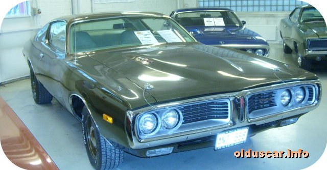 1972 Dodge Charger Hardtop Coupe back
