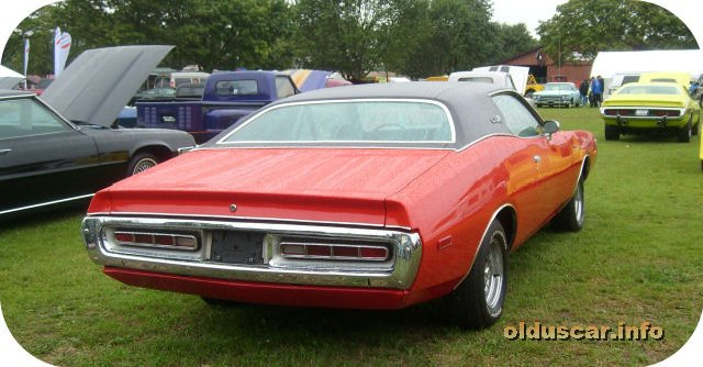 1972 Dodge Charger SE Hardtop Coupe back