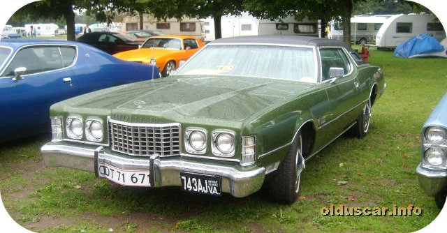 1973 Ford Thunderbird Hardtop Coupe front
