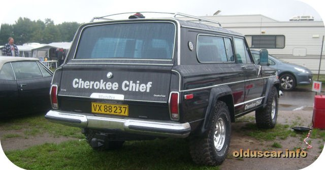 1977 Jeep Cherokee Chief Quadra-Trac 4x4 2d Station Wagon(AMC) back