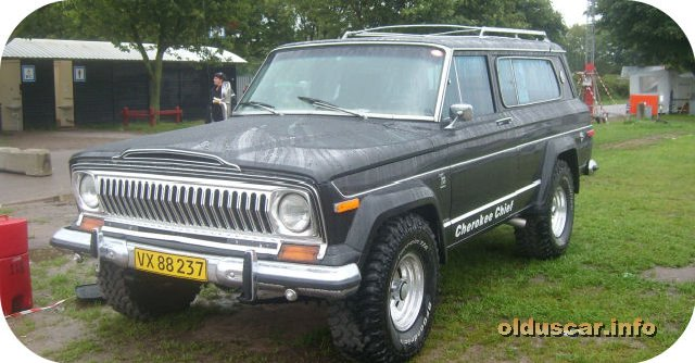 1977 Jeep Cherokee Chief Quadra-Trac 4x4 2d Station Wagon(AMC) front