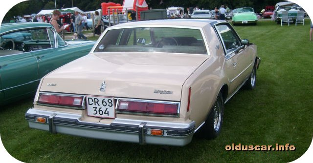 1979 Buick Regal Coupe back
