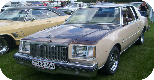 1979 Buick Regal Coupe front