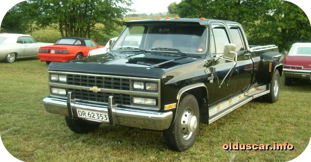 Related Pictures 1986 chevrolet silverado c30 quad cab dually start up ...